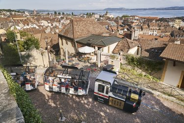 Tourist train Neuchâtel (Fabien Nissels)