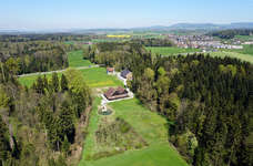 Die Landschaft um das Ziegelei-Museum (Foto: Florian Conrad)