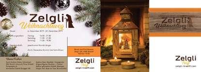 Weihnachtsweg mit Krippenfiguren und Pumpelpitz