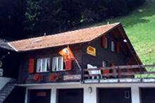Das einfache aber gemütliche Haus liegt am Dorfeingang in der Nähe des Skigebietes Silleren-Hah...