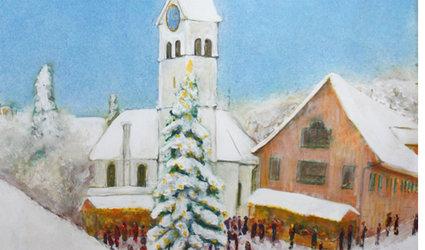 Weihnachtsmärt in Bauma