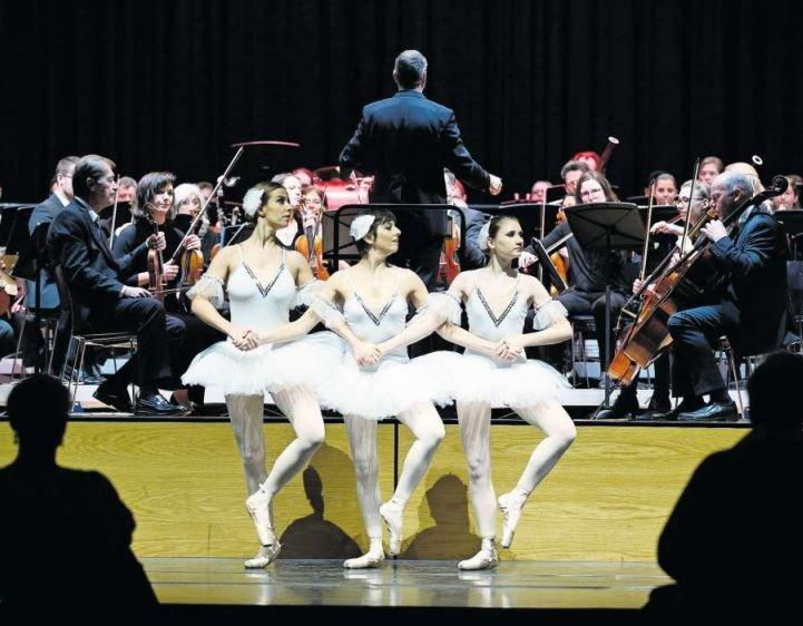 Das Orchester Liechtenstein-Werdenberg spielte sein Neujahrskonzert in Unterägeri.  (Bild Stefan Kaiser)