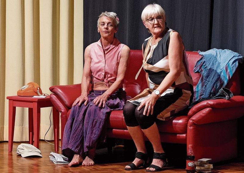 Das Theaterensemble Loreto hat sich für seine erste Produktion das Stück «Ein ungleiches Paar» ausgesucht. (Bild Maria Schmid)