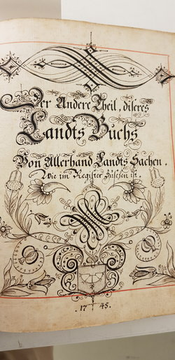 Landsbuch 1745