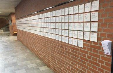 Die Jubiläums-Ausstellung macht Station im Gymnasium