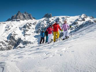 Klettersteig Fürenalp : Fürenalp schneeschuhtour bei vollmond engelberg guidle