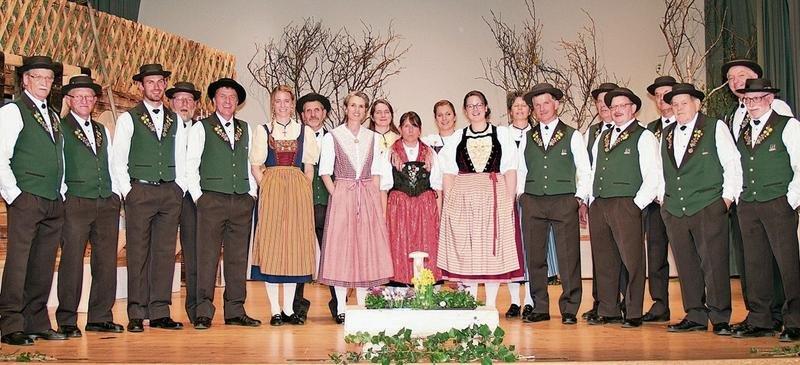 Die Jodlerinnen und Jodler des Jodlerklubs Bärgbrünneli konnten die Juroren überzeugen. (Bild PD)