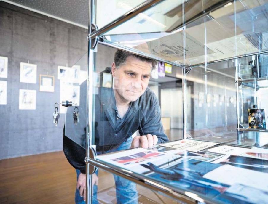 Die Ausstellung in Rotkreuz zeigt rund 1000 der gesammelten Unterschriften. (Bild Stefan Kaiser)