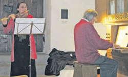 Gut besuchtes «Konzert zur Jahreswende» mit Katharina Egli-Niedderer und