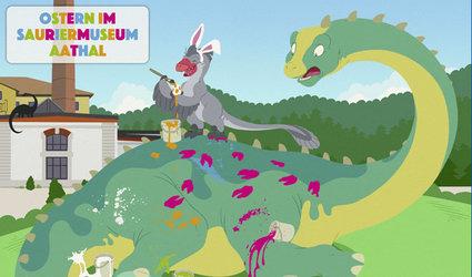 Ostern bei den Dinosauriern