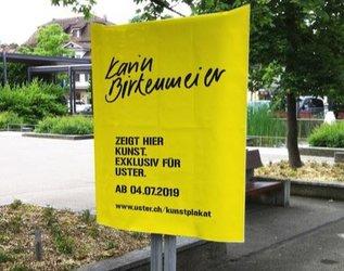 Vernissage: Vier Jahreszeiten - Kunstplakate von Karin Birkenmeier - 1