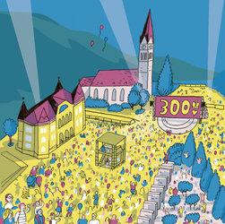 Staatsfeiertag 300 Jahre Fürstentum Liechtenstein
