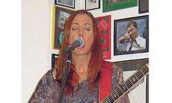 Katrin: Eine Musikerin zum Anfassen. Bild Jsabella Theiler