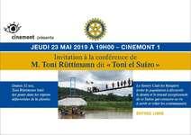 Conférence Cinémont (Luc Babey)