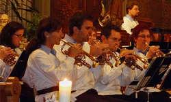 Die Brass Band MG Willerzell zeigte ein gelungenes Adventskonzert. Foto: Sandra Steiner