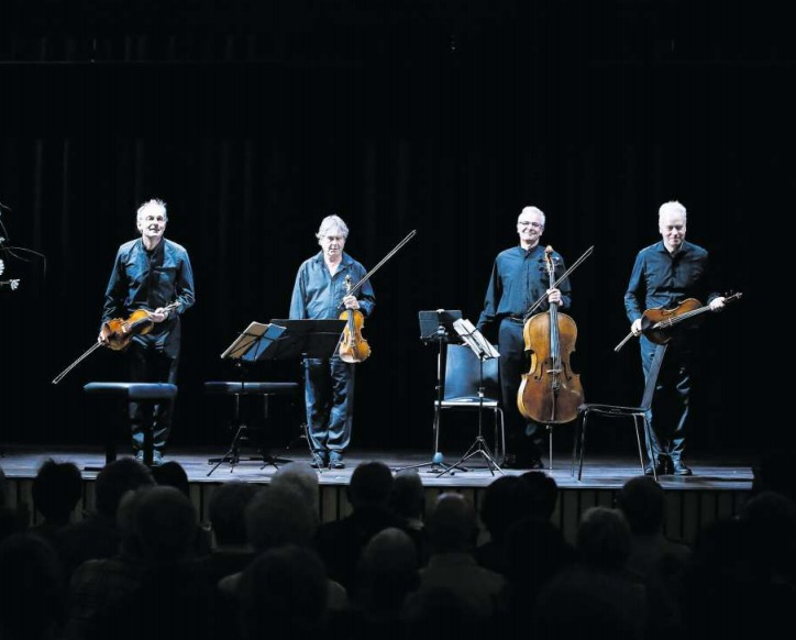 Interpretierten Schubert auf höchstem Niveau: die Musiker des Auryn-Quartetts. (Bild Stefan Kaiser)