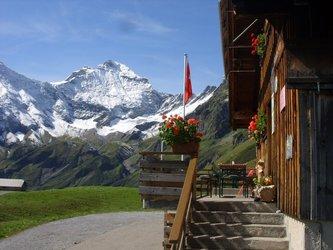 Skihütte Obererbs: Aussenansicht