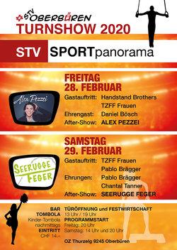 STV Oberbüren Turnswhow mit Seerugge Feger