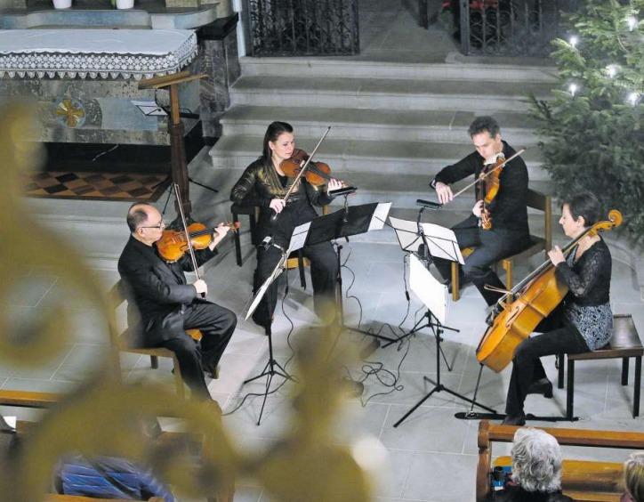 Das Collegium Musicum Zug bei seinem Neujahrskonzert in der Liebfrauenkapelle. (Bild Stefan Kaiser)