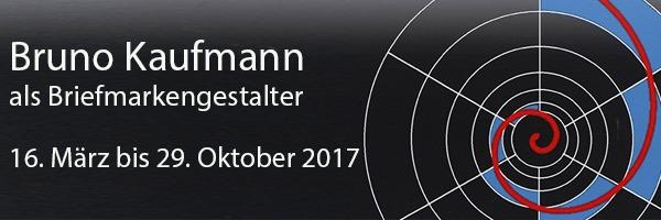 Bruno Kaufmann als Briefmarkengestalter