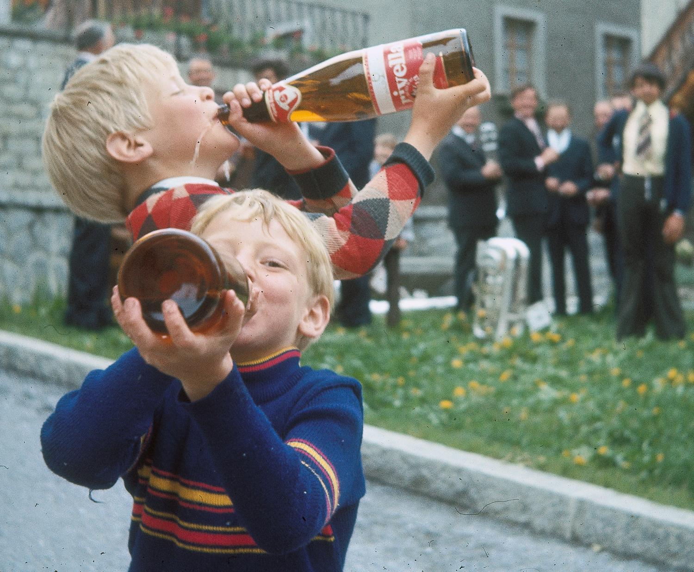 Wiler vor 50 Jahren fotografiert von Josef Huber