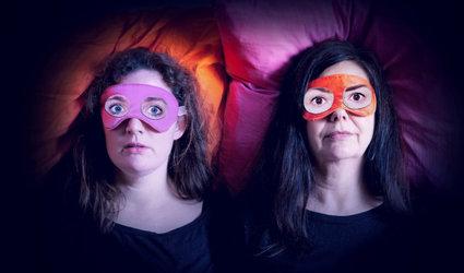 """Sibylle Aeberli und Stefanie Grob """"Schlaflos – ich wach mich kaputt"""