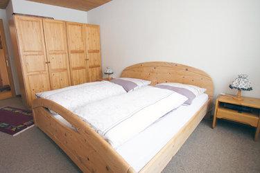 Schlafzimmer Ferienwohnung Amden