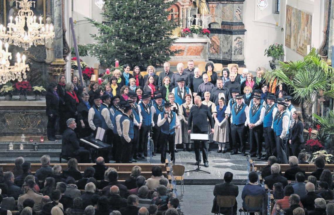 Das gut besuchte Konzert in der Kirche St. Martin in Baar. (Bild PD)