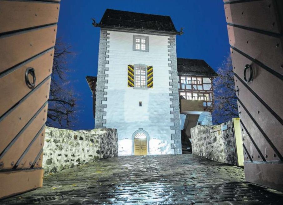 In der Burg Zug soll in uralter Zeit eine habgierige Adlige aus dem Hause Pfullendorf geherrscht haben. (Bild Stefan Kaiser)