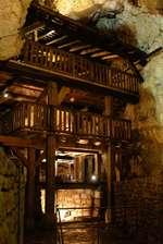 Moulin dans la grotte