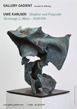 Skulptur - MR 5-1_2014 Bronze patiniert, poliert