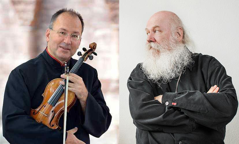 Egidius Streiff und Werner Bärtschi
