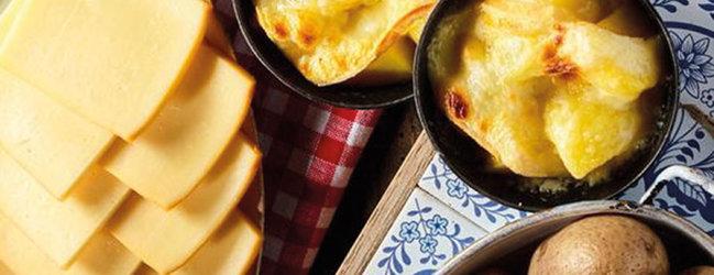 Walliser Raclette à discrétion