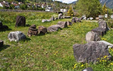 Steinsammlung Knobel: steinerne Zeugen aus dem Kanton Glarus - 1