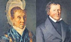 Treffend porträtierte Georg Anton Gangyner seine Mutter Maria Theresia Gangyner-Diethelm und seinen Onkel, den Orgelbauer Johann Michael Gangyner. Bilder zvg