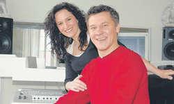 Musikalisches Paar: Patricia Stauber und Philipp Mettler. Bild Irene Lustenberger