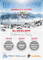 WE LOVE BRAUNWALD - Adler Bräu Party