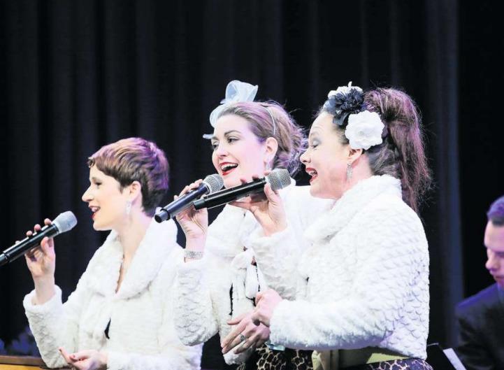 Die Sam Singers begeisterten zum Jahresauftakt in Baar. (Bild Stefan Kaiser)