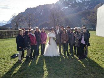Turner bei der Hochzeit