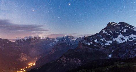 Braunwald bei Nacht (Copyright: Daniele Giardina)