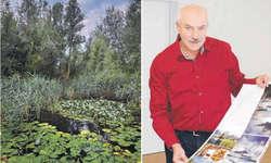 Axel Botts Buch «Wasserschwyz» zeigt mittels Fotografien und Porträts die Zusammenhänge des Wassermanagements im Kanton auf. Dazu zählt auch die Seepromenade Freienbach mit seiner reichen Vegetation. Bilder Axel Bott/Bianca Anderegg