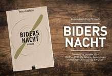 """""""Biders Nacht"""" Lesung von Peter Brotschi"""