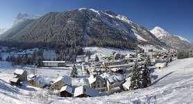 Vallorcine hiver