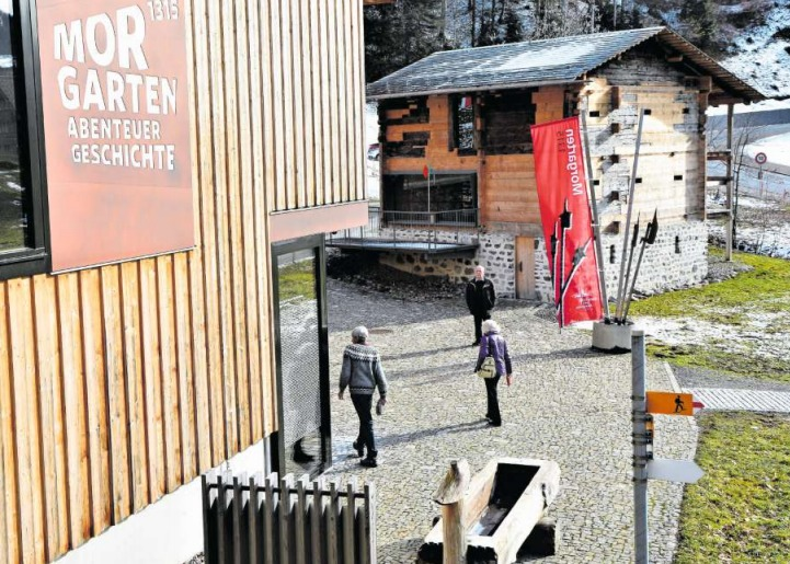 Das Informationszentrum Schornen in Morgarten. (Bild PD)