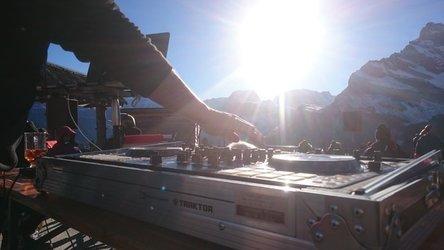 Turntables mit Ortstock