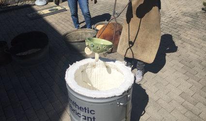 2-Tages Keramikkurs mit Rakubrand