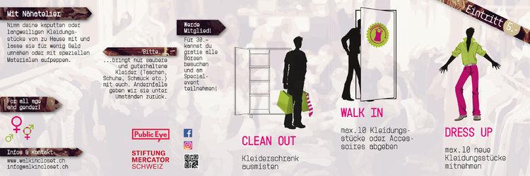 Walk-in Closet - Kleidertauschbörse
