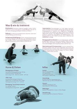 Freiraum - Bewegung & Tanz mit Rahel Opprecht - 1