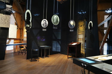 Blick in den Ausstellungsbereich