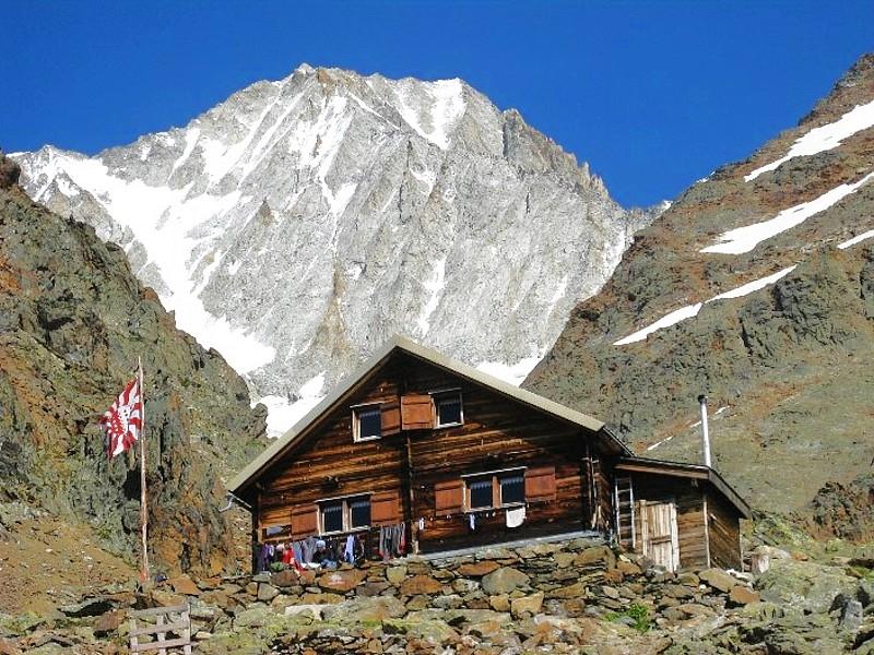 Tragwochenende zur Bietschhornhütte